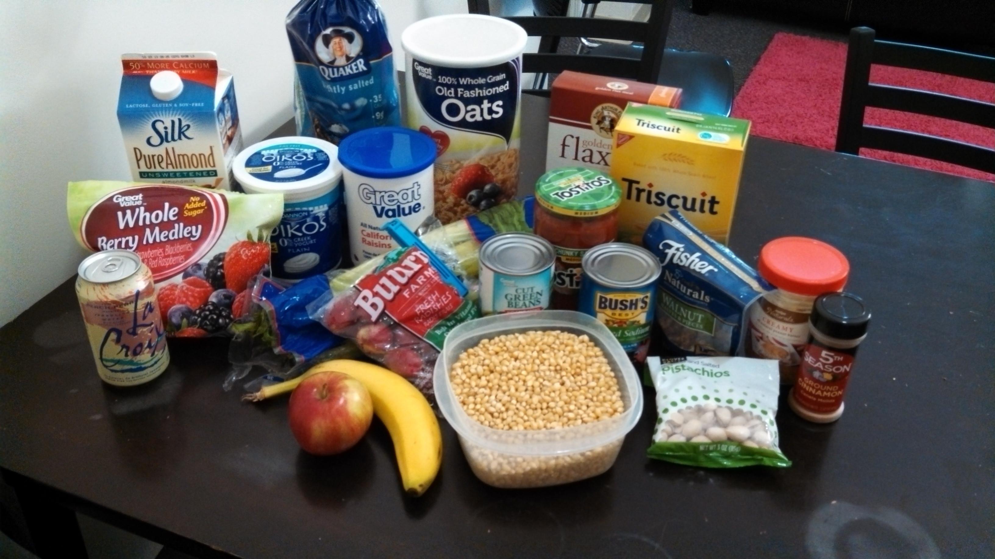 Healthy Snacks For College Dorm  College Dorm Room Food Ideas