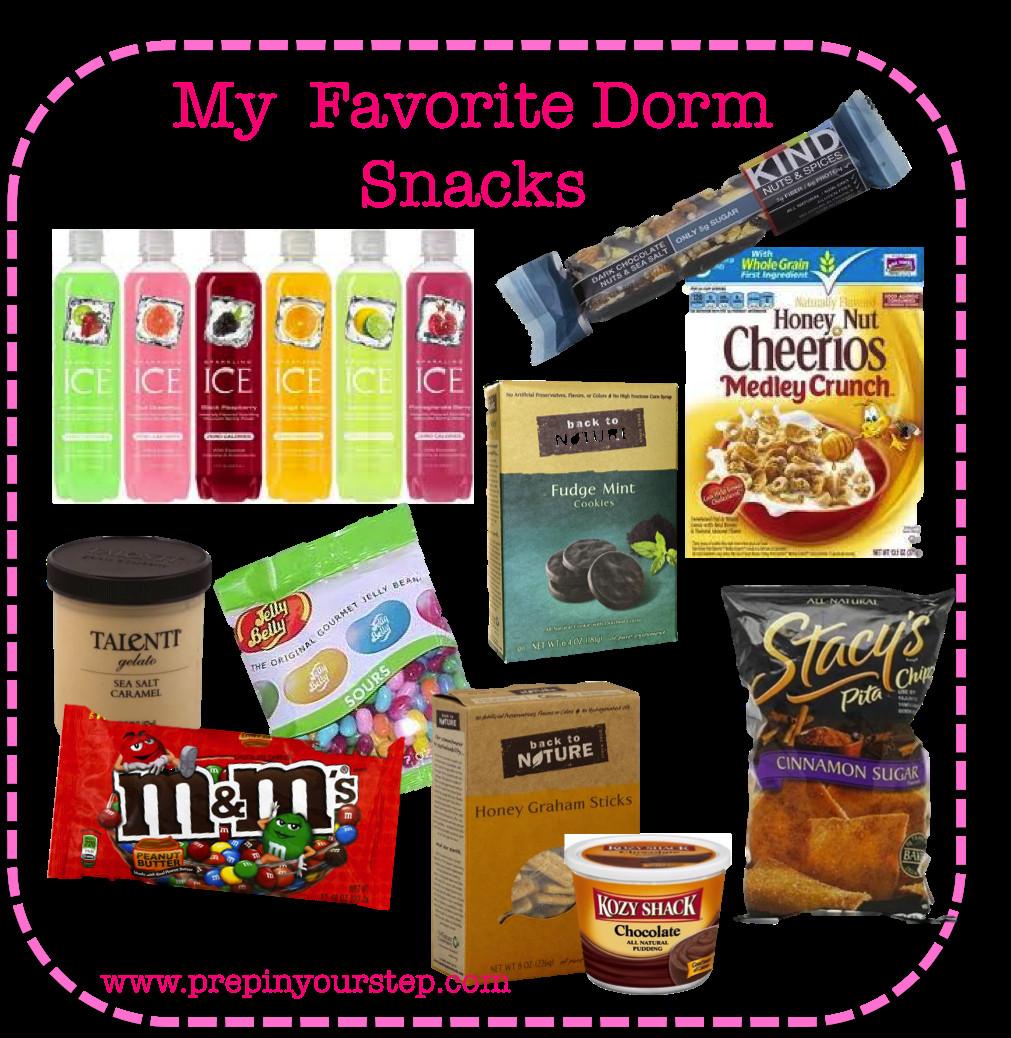 Healthy Snacks For College Dorm  Prep In Your Step My Favorite Dorm Snacks
