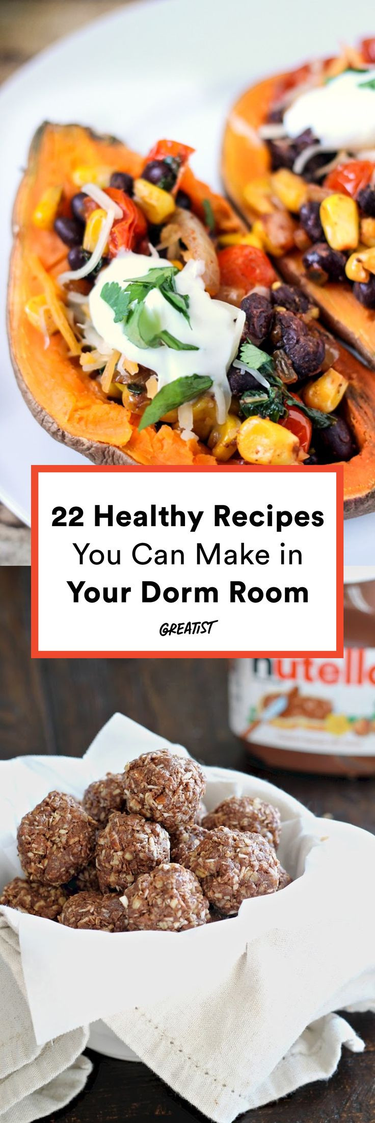 Healthy Snacks For College Dorm  22 Healthy College Recipes You Can Make in Your Dorm Room