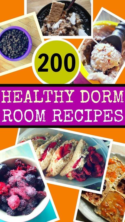 Healthy Snacks For College Dorm  200 Healthy Dorm Room Recipes – Simply Taralynn