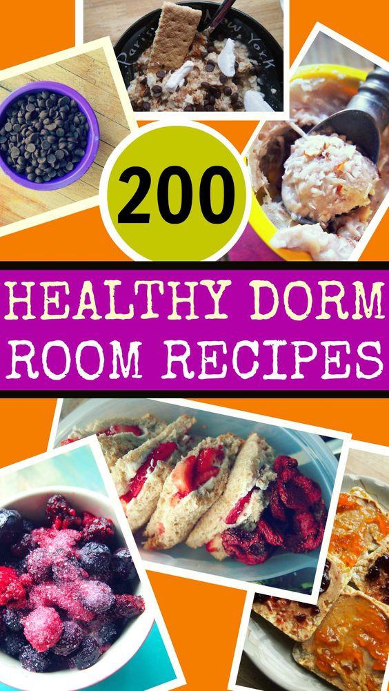 Healthy Snacks For College Dorms  200 Healthy Dorm Room Recipes by Taralynn McNitt I don t