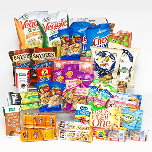 Healthy Snacks For College Dorms  Healthy Snacks Gift Box College Dorm Military Breakroom