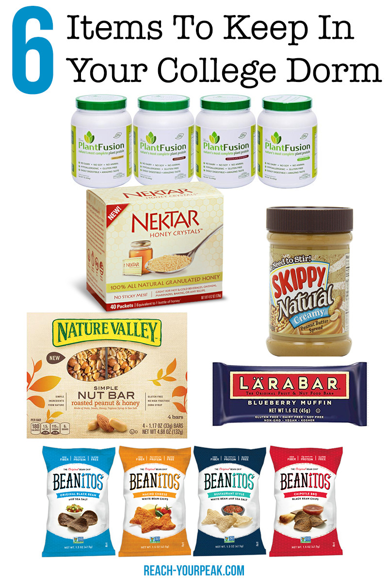 Healthy Snacks For College Students  6 Healthy Foods To Keep In Your Dorm Room Reach Your Peak