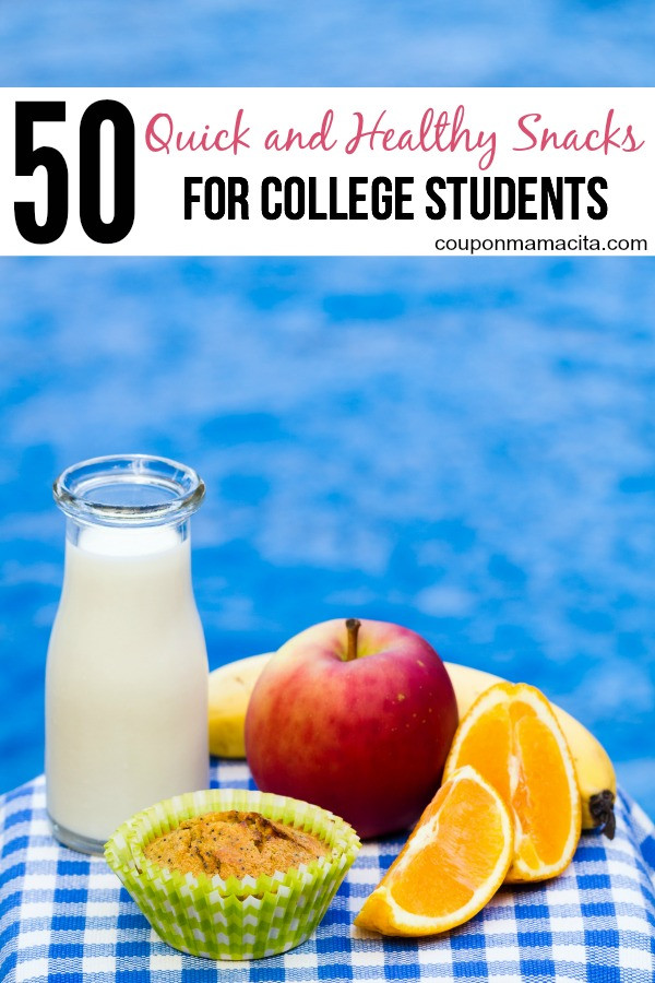 Healthy Snacks For College Students  50 Healthy Snack Ideas for College Students