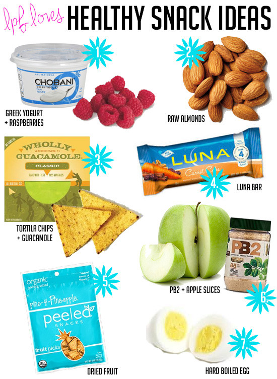 Healthy Snacks For College Students  La Petite Fashionista Fitness Healthy Snacks for Busy Girls