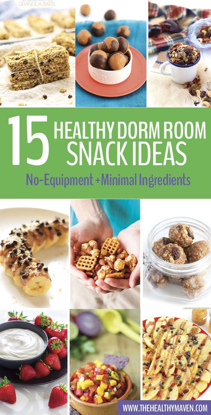 Healthy Snacks For College Students  Healthy Dorm Room Snack Ideas The Healthy Maven