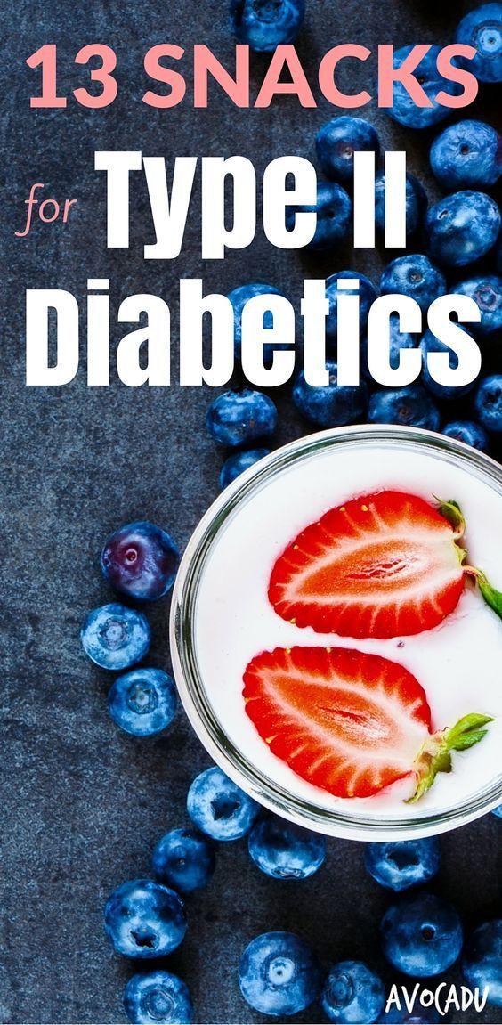 Healthy Snacks For Diabetics Type 2  13 Snacks for Type II Diabetics