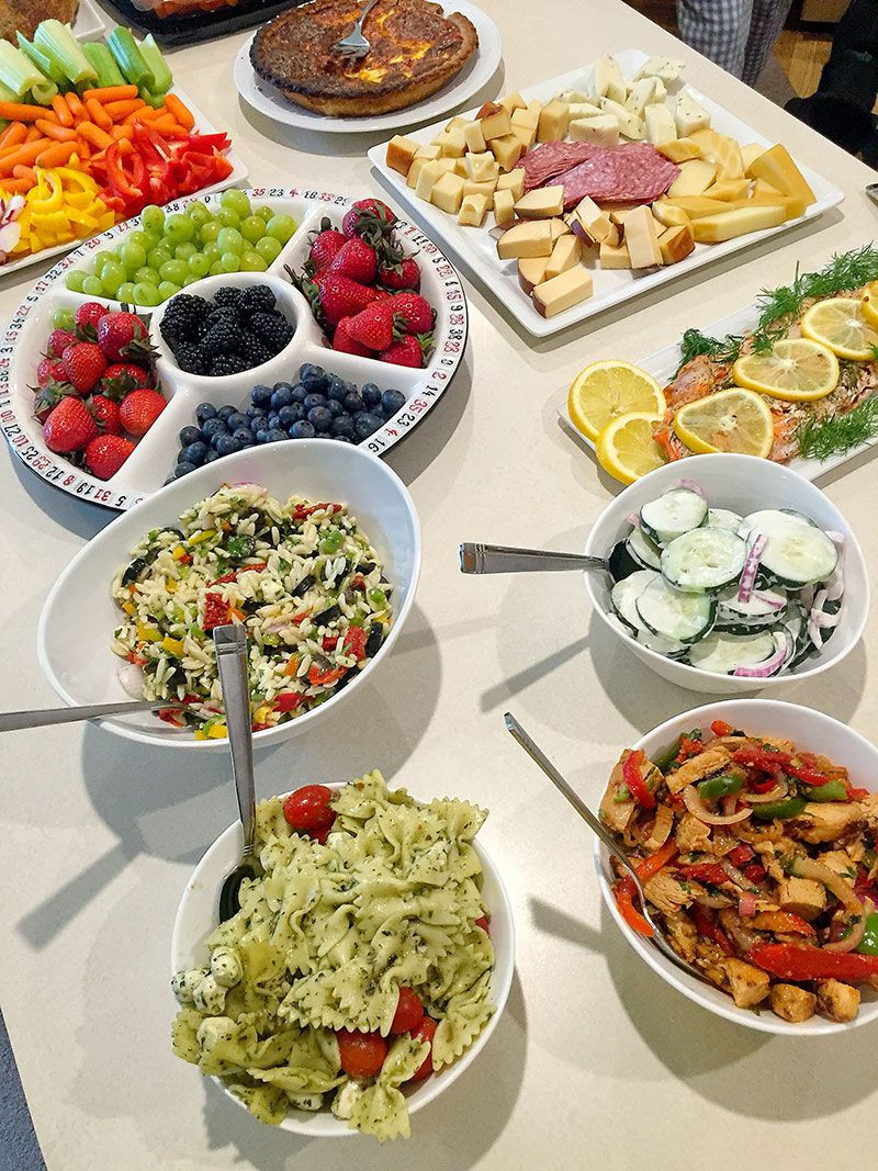 Healthy Snacks For Game Night  Five Delicious Food Ideas For A Girl's Game Night Buffet