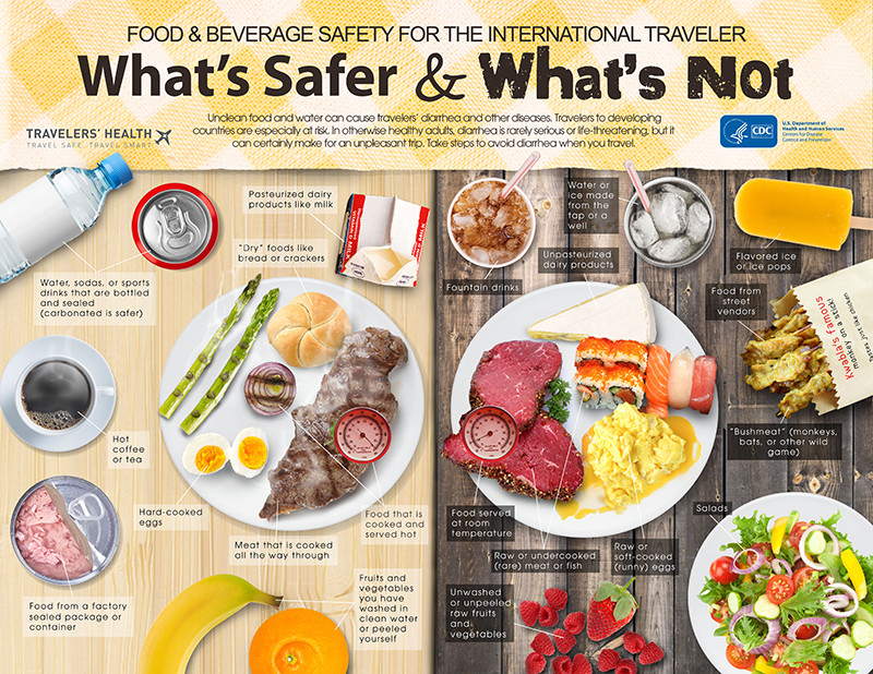 Healthy Snacks For International Flights  Infographic What s Safer and What s Not