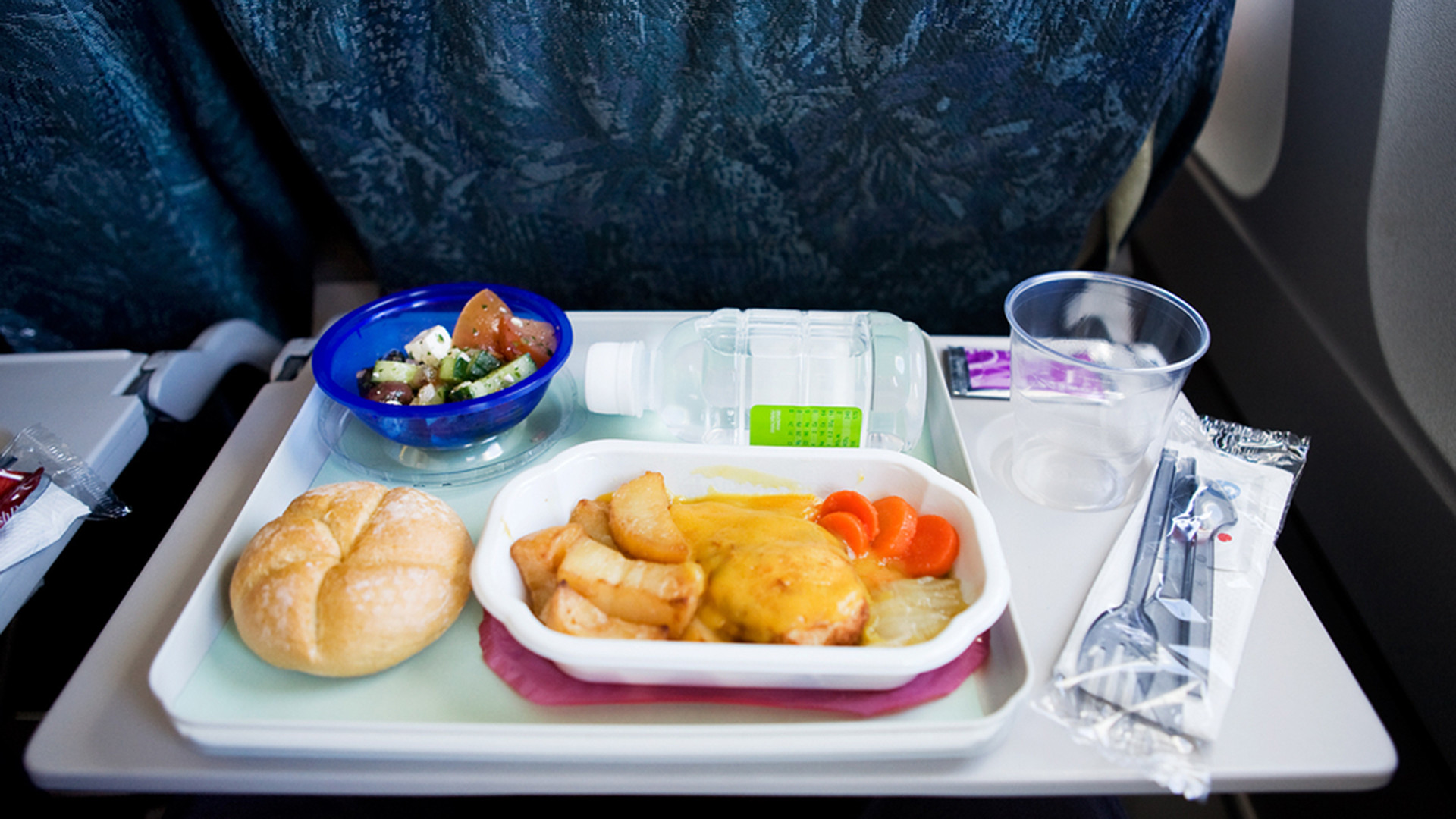 Healthy Snacks For International Flights  Study reveals the dirtiest places on an airplane TODAY