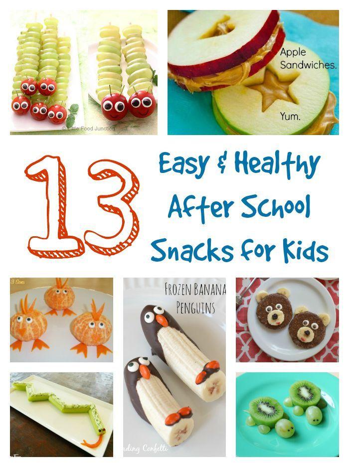 Healthy Snacks For Kids At School  13 Easy & Healthy After School Snacks for Kids