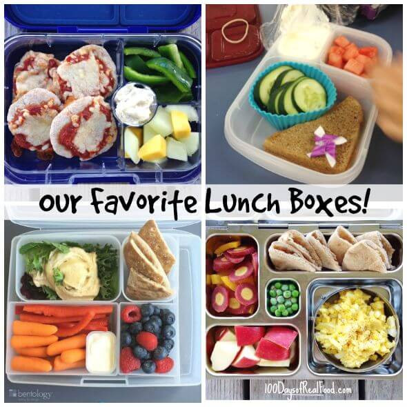 Healthy Snacks For Kids Lunch Boxes  Review Our Favorite Lunch Boxes for Kids 100 Days of