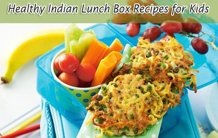 Healthy Snacks For Kids Lunch Boxes  Easy to Cook Indian Lunch Box Recipes for Kids for a