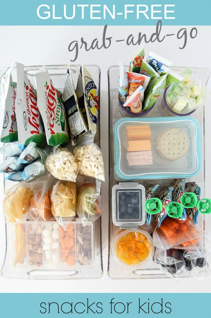Healthy Snacks For Kids On The Go  Gluten Free Grab and Go After School Snacks