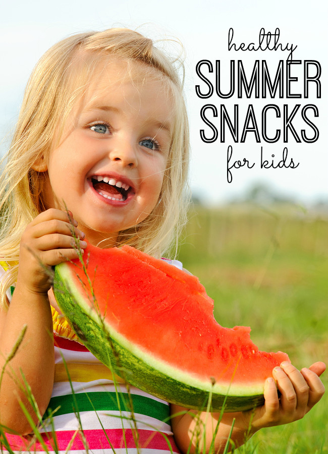 Healthy Snacks For Kids On The Go  Healthy Summer Snacks for Kids