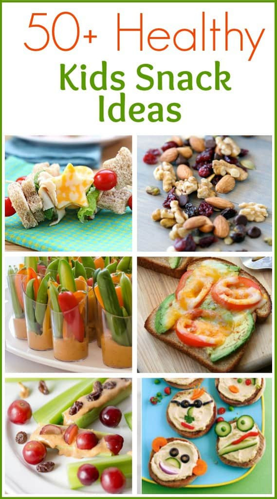 Healthy Snacks For Kids  50 Healthy Snack Ideas Tastes Better From Scratch