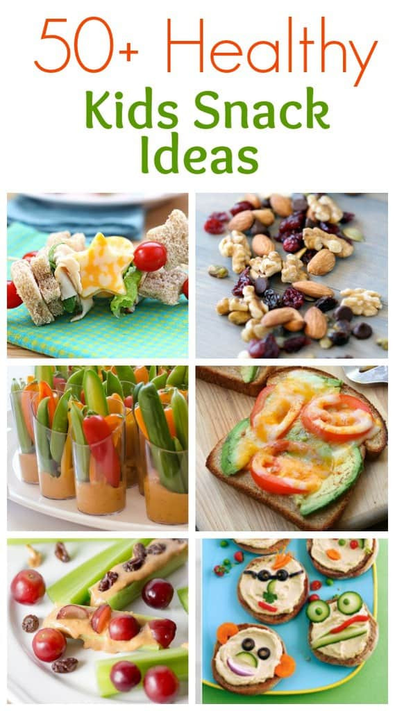 Healthy Snacks For Kids To Make  50 Healthy Snack Ideas Tastes Better From Scratch