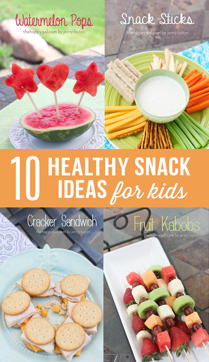 Healthy Snacks For Kids To Make  10 Healthy Snack Ideas for Kids