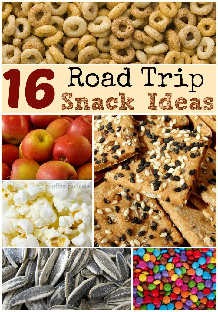 Healthy Snacks For Long Road Trips  Road Trip Snacks for Family Travel Vacations