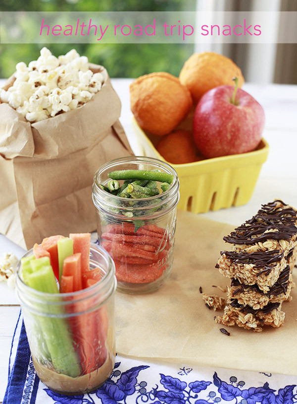 Healthy Snacks For Long Road Trips  Healthy Road Trip Snacks Yummy Mummy Kitchen