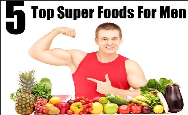 Healthy Snacks For Men  Top 5 Super Foods For Men