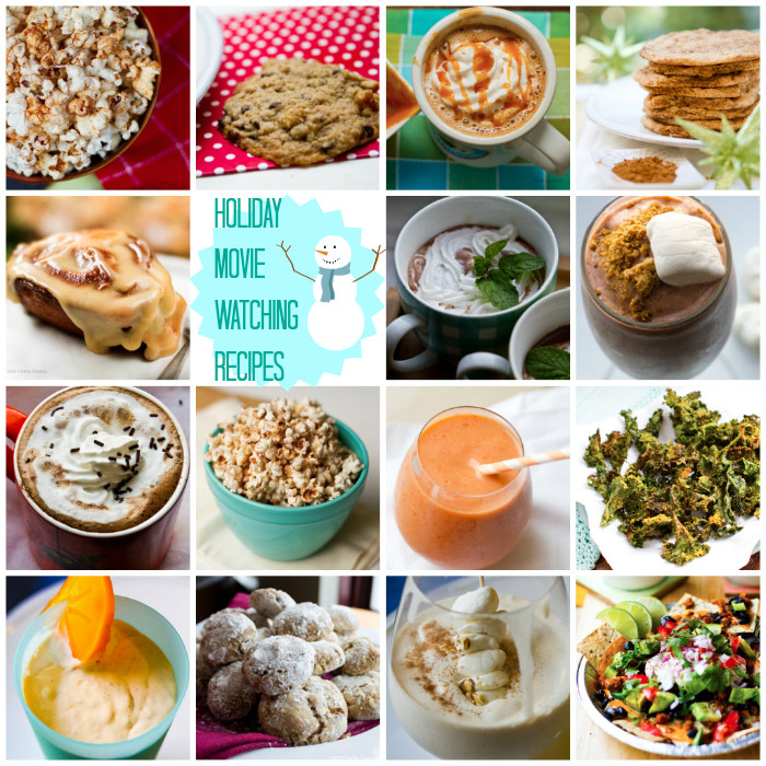 Healthy Snacks For Movies  Pumpkin Spice Popcorn & more holiday movie watching recipes