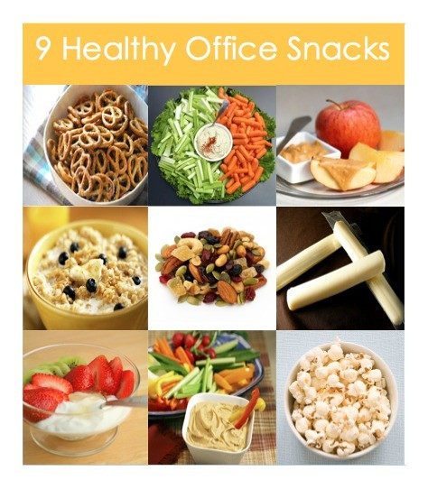 Healthy Snacks For Office  9 Healthy fice Snacks The Daily Grind