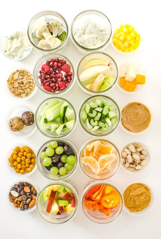 Healthy Snacks For On The Go  10 Easy & Healthy Snacks You Can Prep in Advance