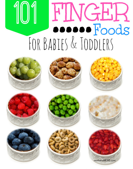 Healthy Snacks For One Year Olds  101 Finger Foods for Babies and Toddlers