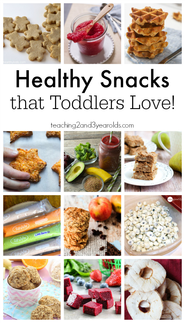 Healthy Snacks For One Year Olds  Healthy Snacks for Toddlers