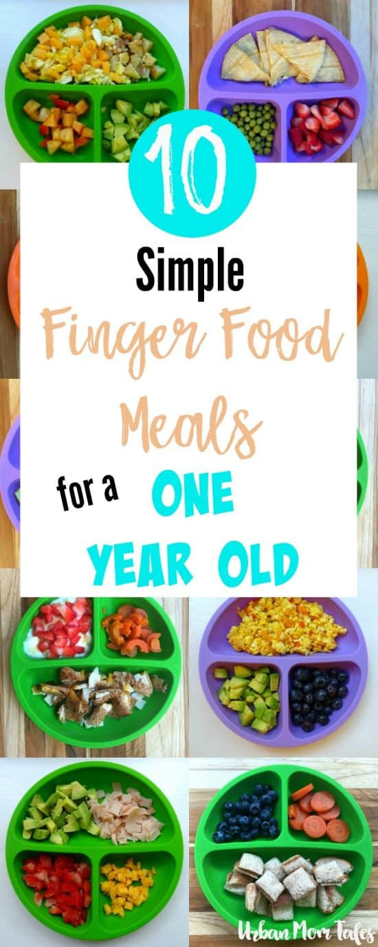 Healthy Snacks For One Year Olds  10 Simple Finger Food Meals for A e Year Old · Urban Mom