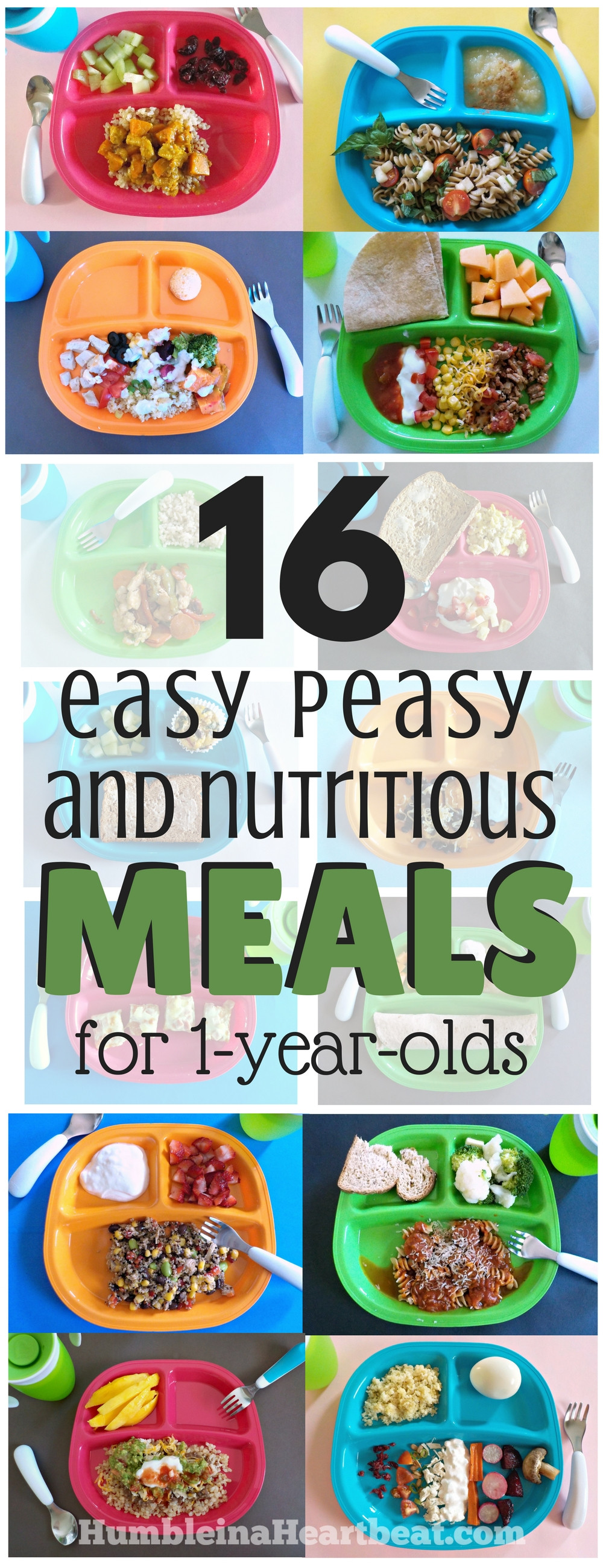 Healthy Snacks For One Year Olds  16 Simple Meals for Your 1 Year Old that Will Make You
