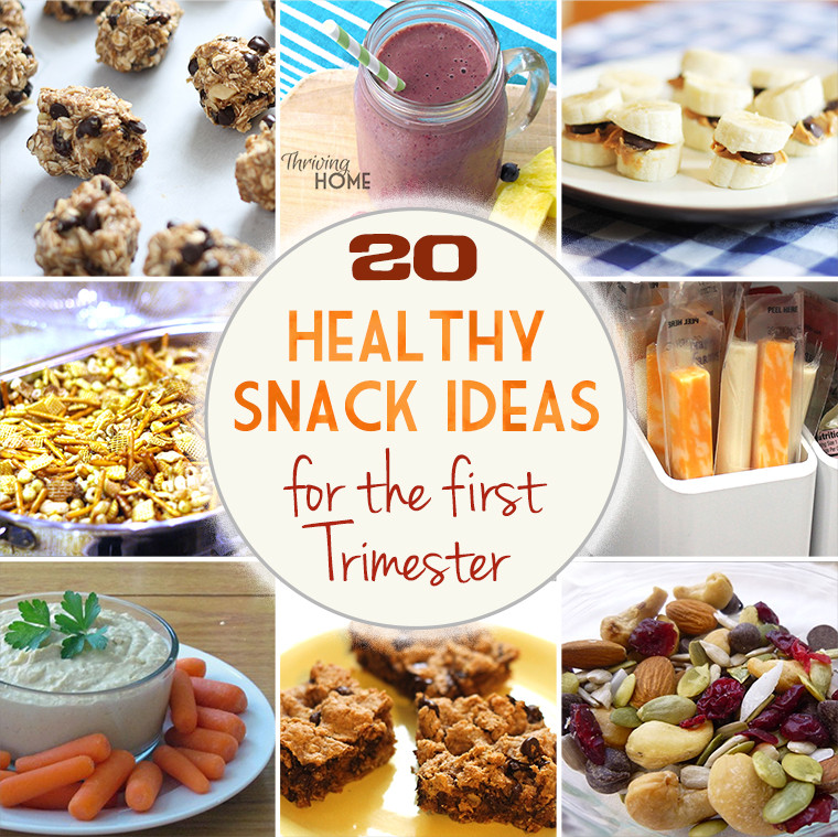 Healthy Snacks For Pregnancy First Trimester  20 Healthy Snack Ideas for the First Trimester