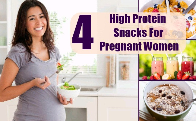 Healthy Snacks For Pregnant Women  4 High Protein Snacks For Pregnant Women Healthy High