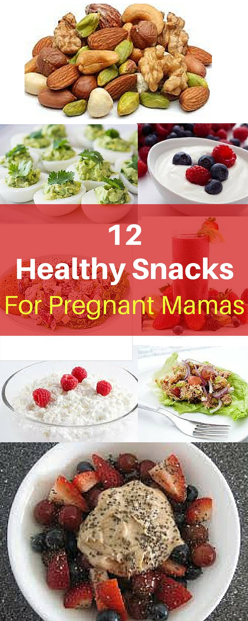 Healthy Snacks For Pregnant Women  10 Healthy Snacks For Pregnant Mamas Michelle Marie Fit