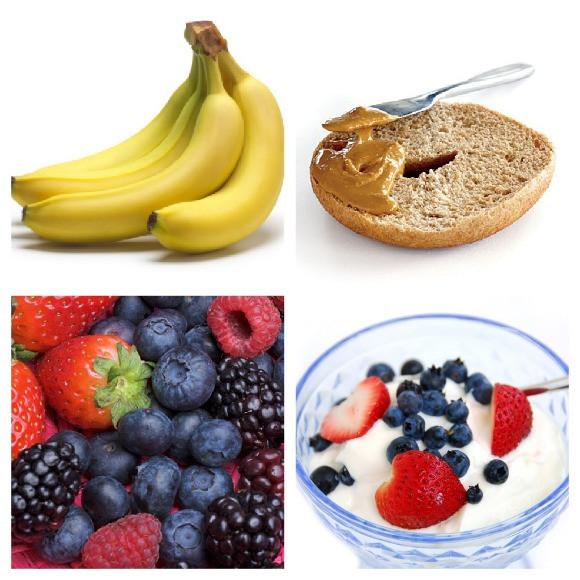 Healthy Snacks For Runners  Que er antes del entrenamiento [16 semanas para un