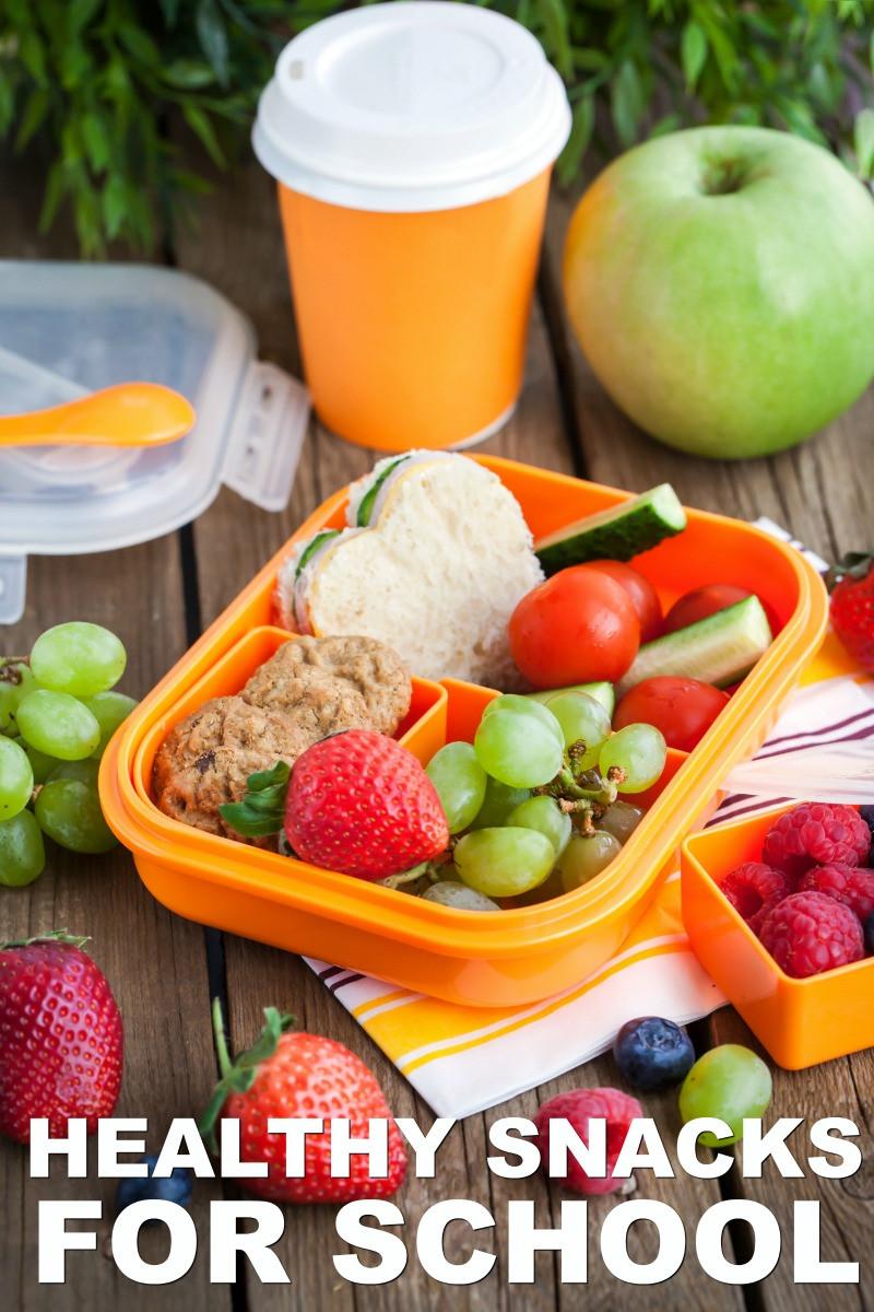 Healthy Snacks For School  Healthy Snacks for School