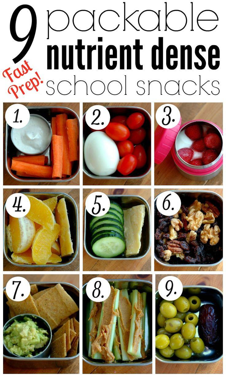 Healthy Snacks For School  Best 25 School snacks ideas on Pinterest