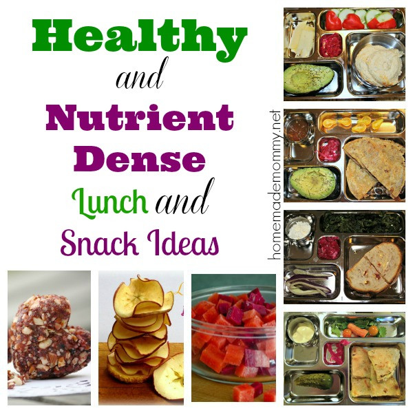 Healthy Snacks For School  Healthy School Lunch and Snack Ideas Homemade Mommy