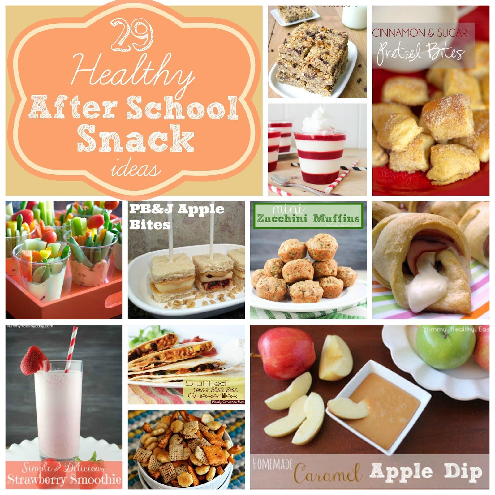Healthy Snacks For School  29 Healthy After School Snack Ideas Yummy Healthy Easy