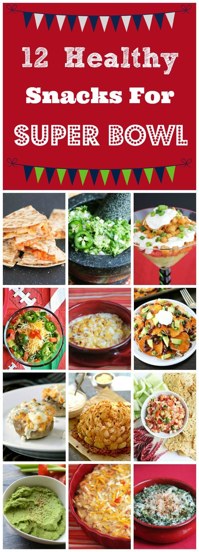 Healthy Snacks For Superbowl Party  12 Healthy Super Bowl Snack Recipes Jeanette s Healthy