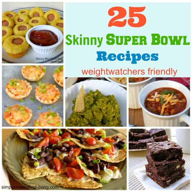 Healthy Snacks For Superbowl Party  25 Easy Healthy SuperBowl Recipes