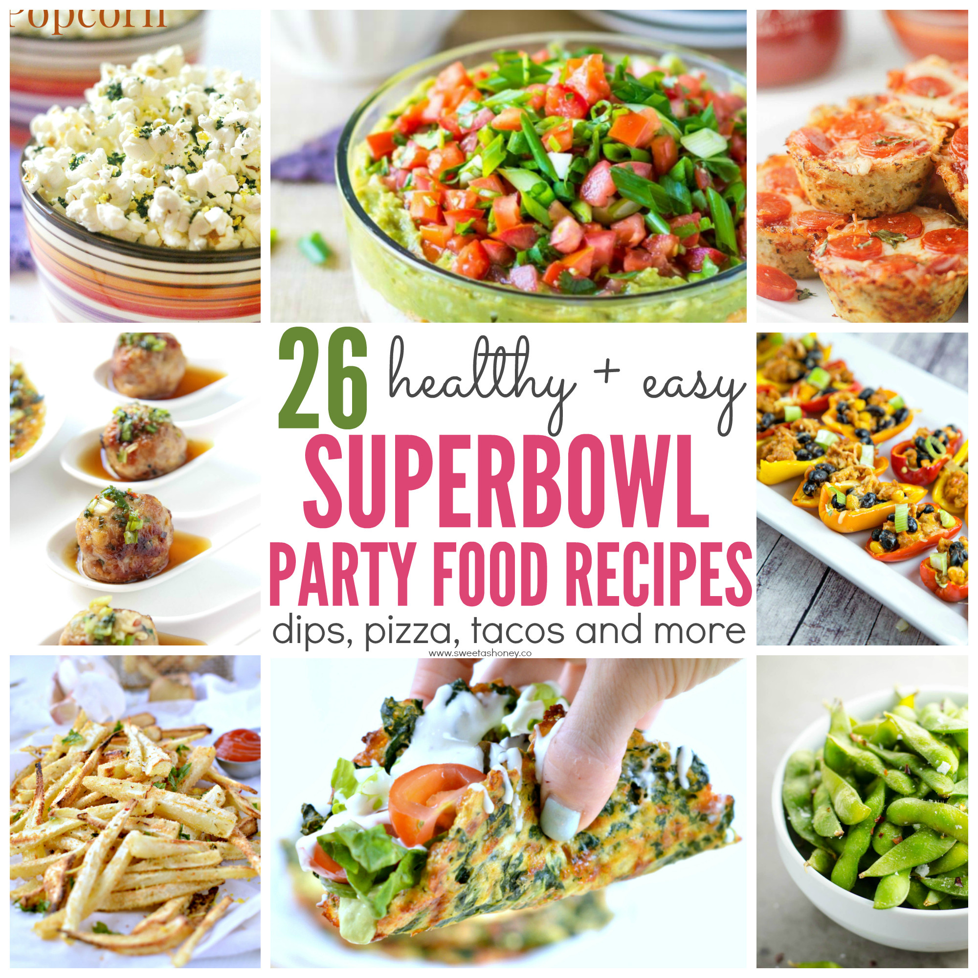 Healthy Snacks For Superbowl Party  26 Healthy Superbowl Party Food Recipes Sweet and Savory