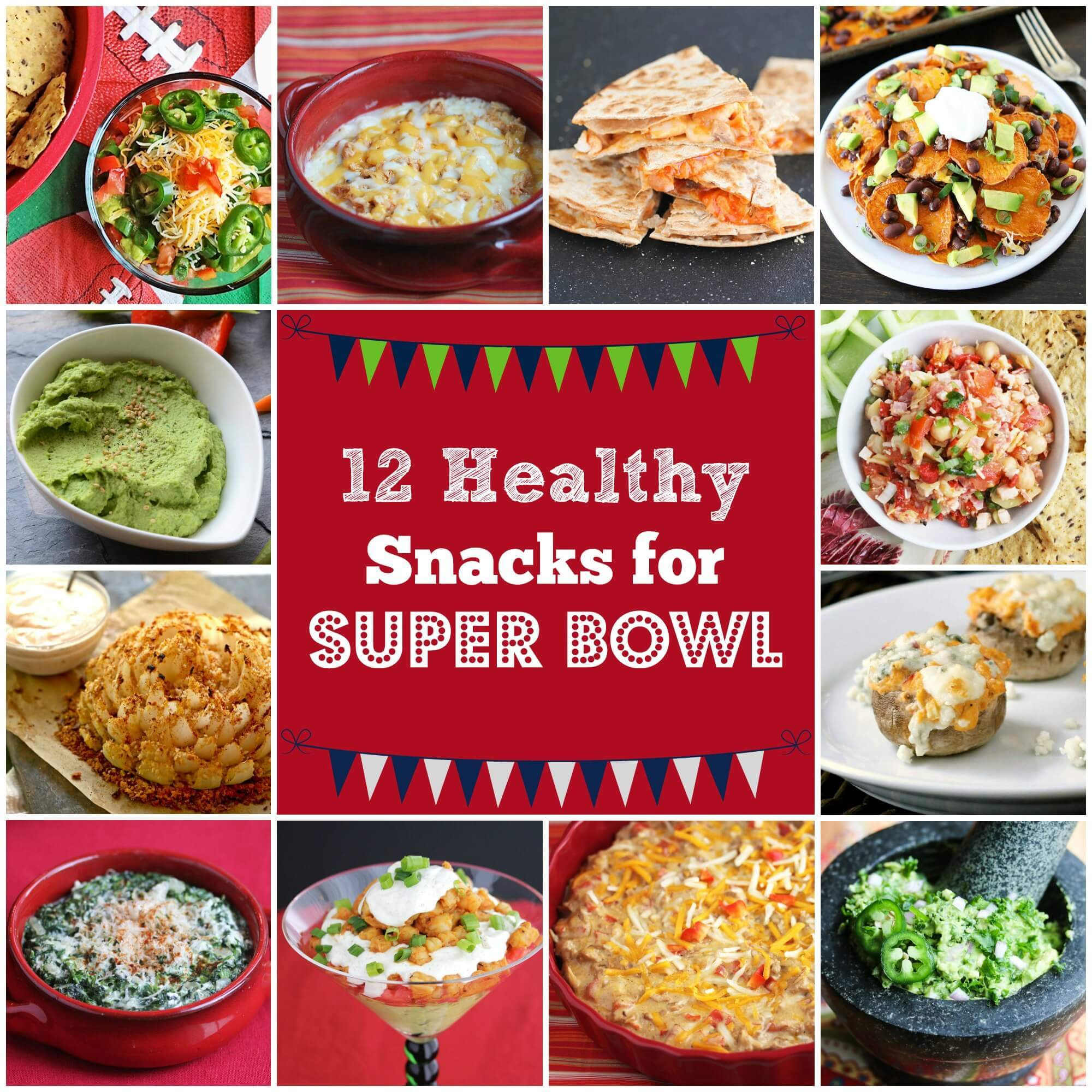 Healthy Snacks For Superbowl Party  healthy superbowl food recipes