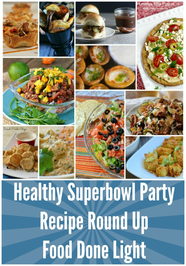 Healthy Snacks For Superbowl Party  Healthy Superbowl Party Recipe Round Up