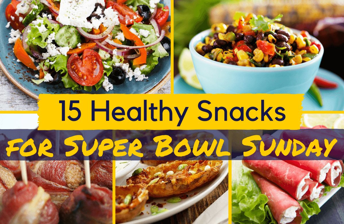Healthy Snacks For Superbowl Party  15 Healthy Snacks for Super Bowl Sunday