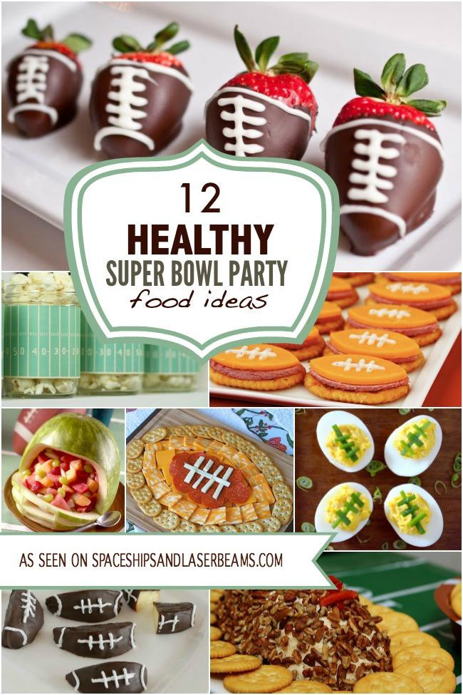 Healthy Snacks For Superbowl Party  12 Healthy Super Bowl Party Food Ideas Spaceships and