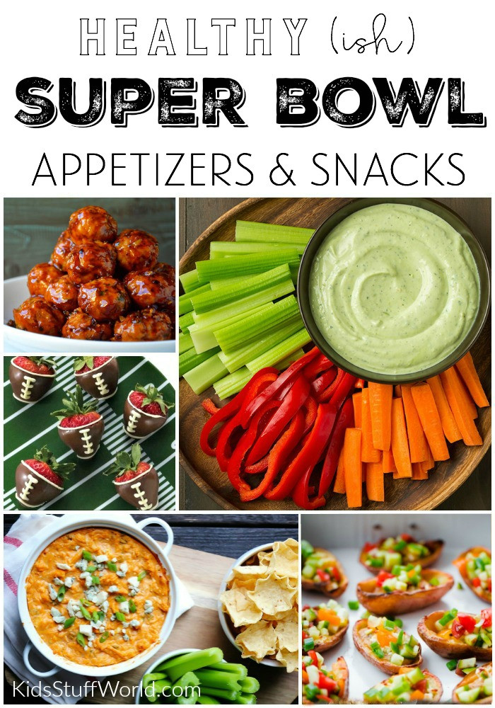 Healthy Snacks For Superbowl Party  Healthier Super Bowl Appetizers & Game Day Food