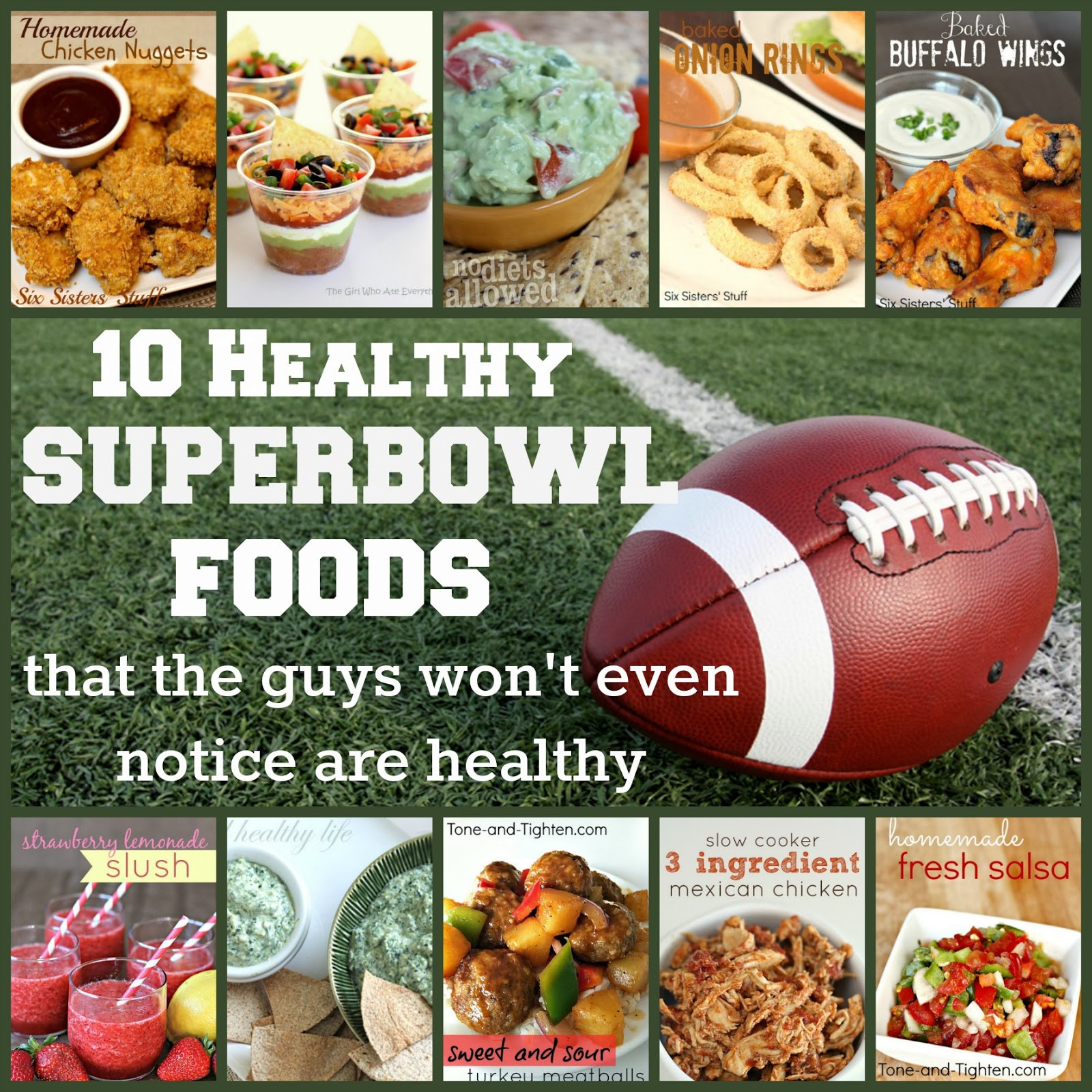 Healthy Snacks For Superbowl Party  10 Healthy Superbowl Foods That The Guys Won t Make Fun