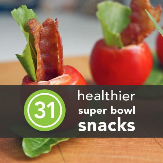 Healthy Snacks For Superbowl Party  41 Guilt Free Super Bowl Snacks